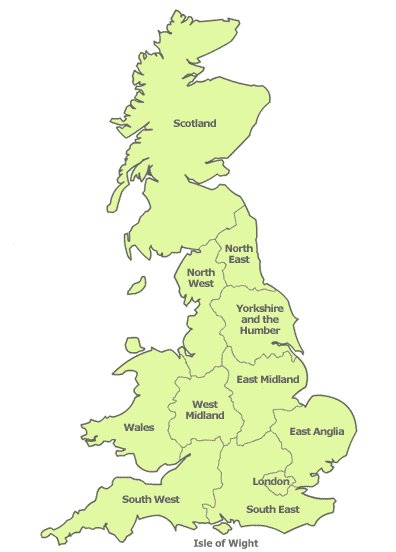Map Of Uk Mainland.Location Trevis Security